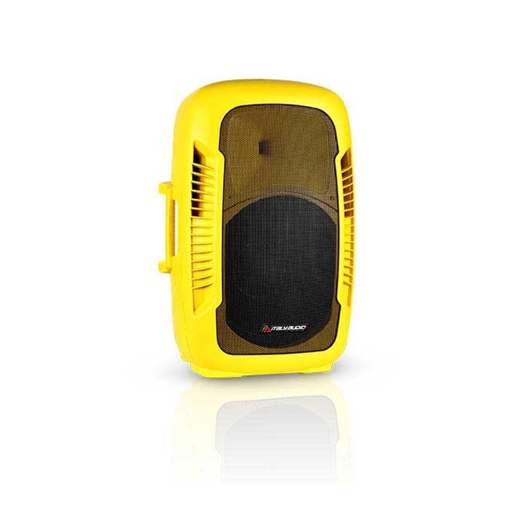 Caja-italy-audio-15---recargable-amarilla-bateria-12v-incluye-2xvhf-mic-y-pedestal