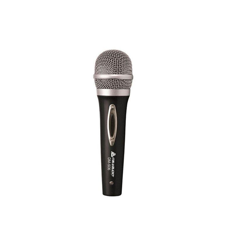 Microfono-italy-audio-de-metal-c-cable-color-negro