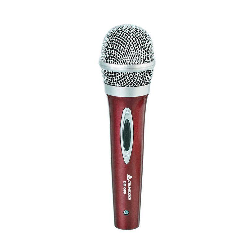 Microfono-italy-audio-de-plastico-c-cable-color-verde