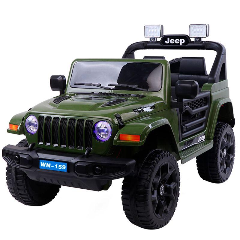 carro-a-bateria-peego-jeep-verde-eckohogar