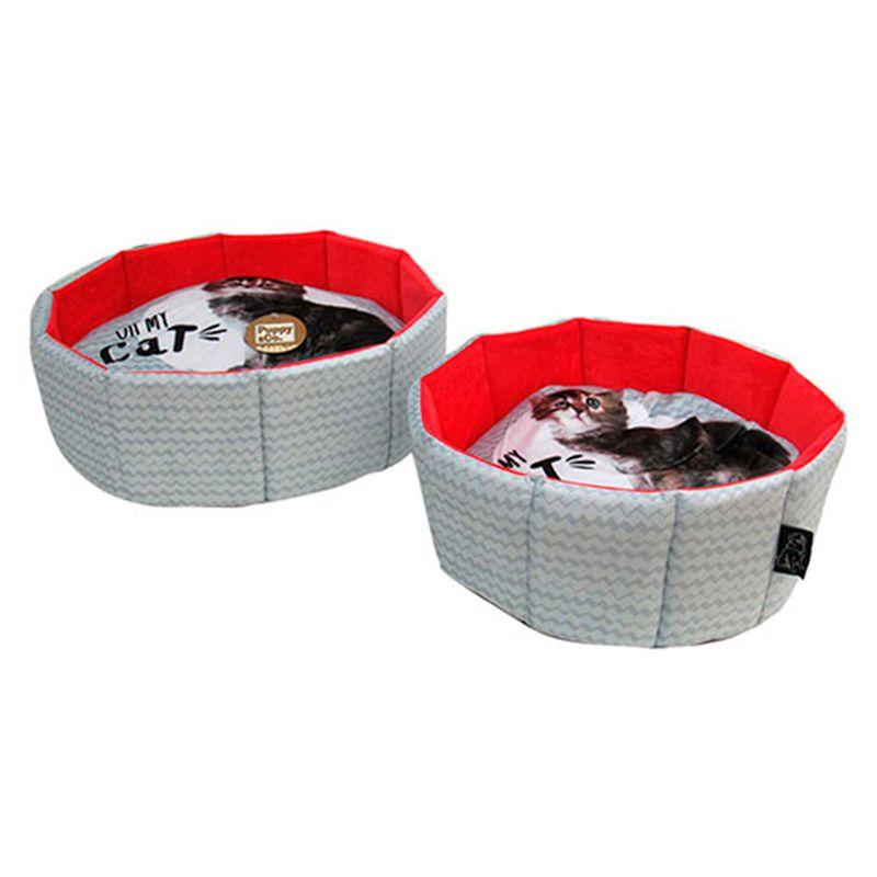 cama-para-mascota-puppy-co-gris-rojo-eckohogar
