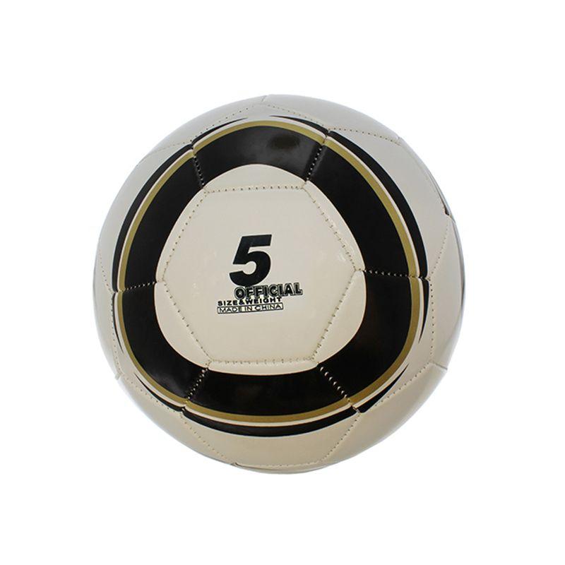 pelota-de-futbol-numero-5-negro-dorado-eckohogar