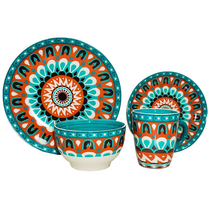 vajilla-home-life-16-piezas-multicolor-eckohogar