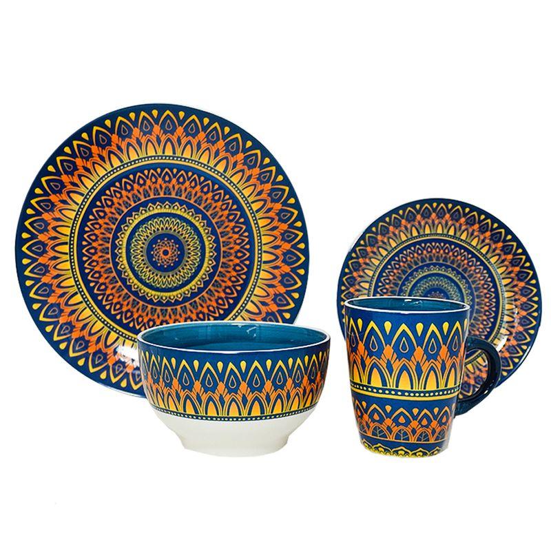 vajilla-home-life-16-pieza-eckohogar-multicolor