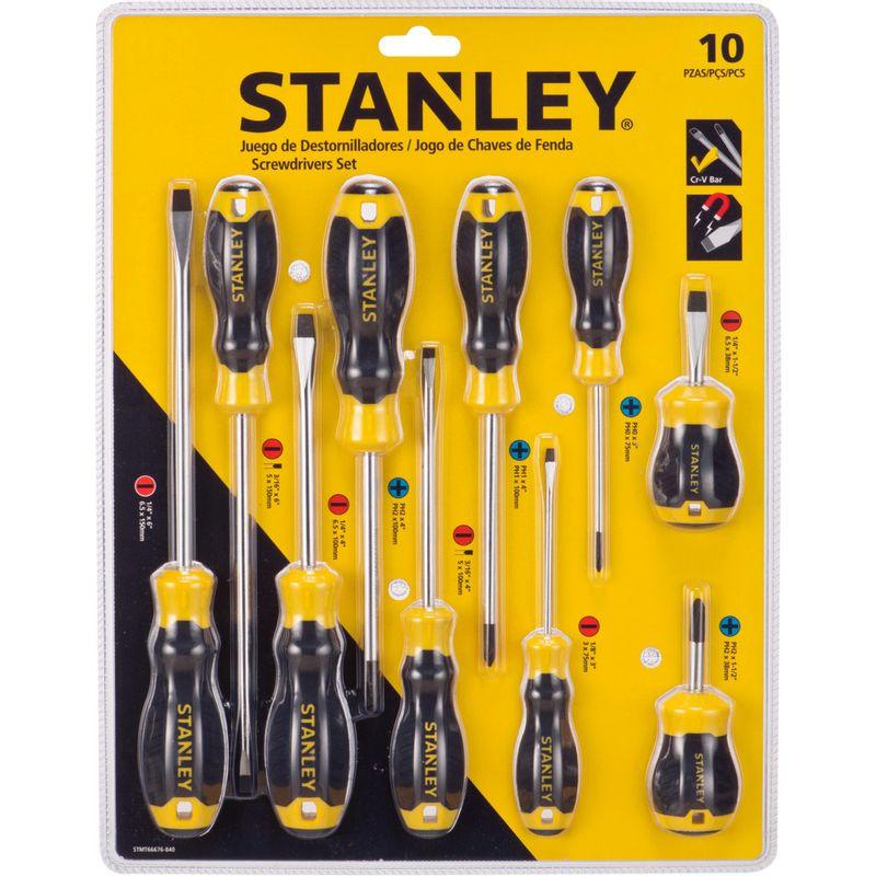 juego-de-destornillador-stanley-10-piezas-eckohogar-1
