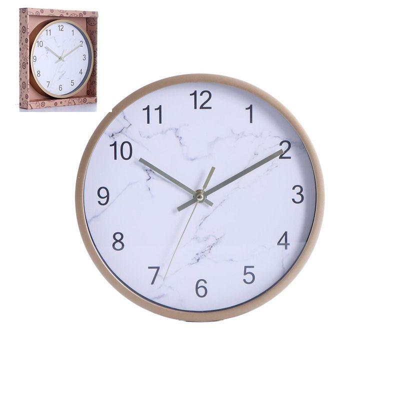 reloj-de-pared-concepts-color-blanco-marmoleado-eckohogar