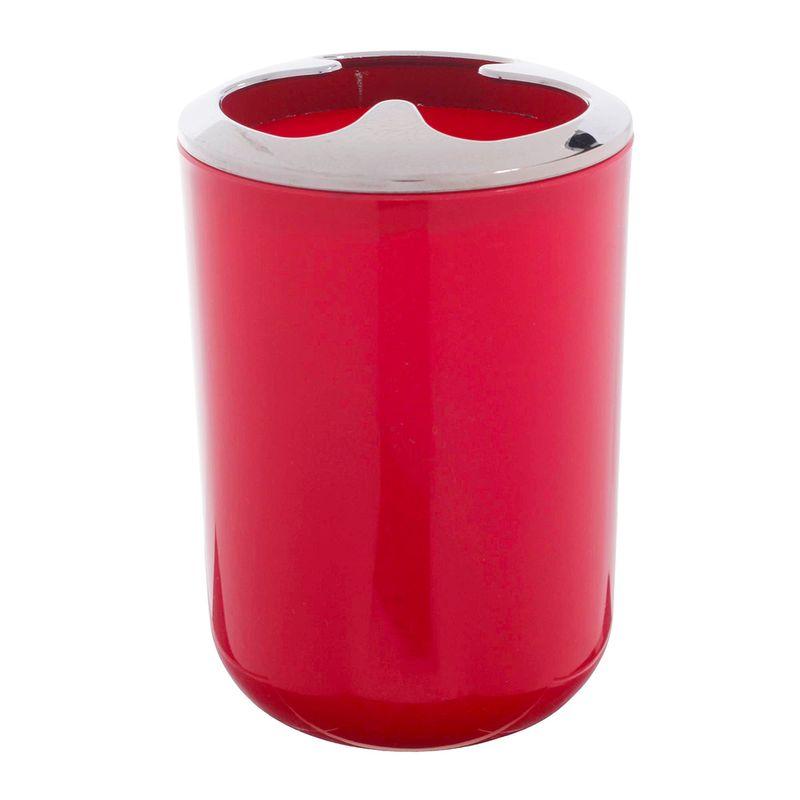 porta-cepillo-concepts-rojo-eckohogar